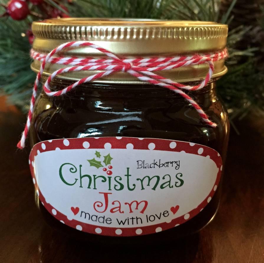 Christmas Jam Labels - Customer Creations - Online Labels