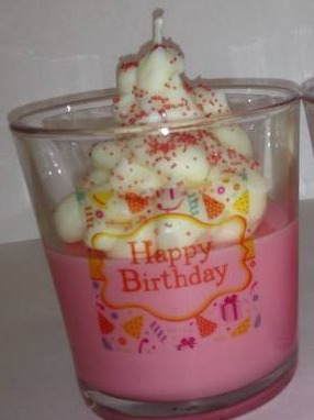 Labels for Cupcake Soy Candle in a Jar