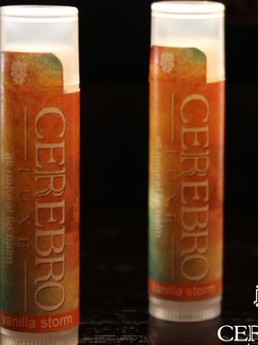 Cerebro Luxe Premium Lip Balm Labels