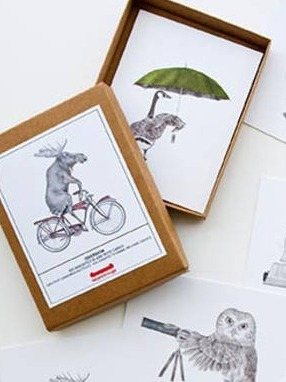 lecanotrouge stationery // note card boxed sets