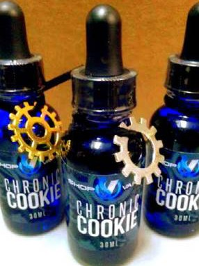 Shop Vapes Inc. Chronic Cookie Label