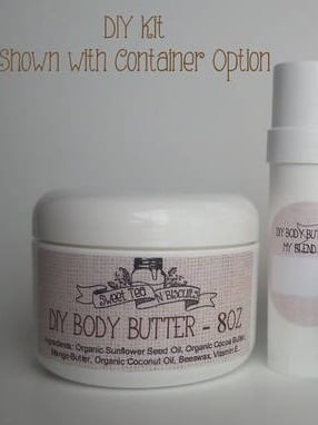 Product Laels for DIY Body Butter Kit