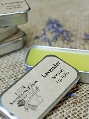 Stonegrass Farms Soap Co. Lavender Lip Balm