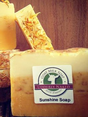 Product Labels for Sunshine Soap