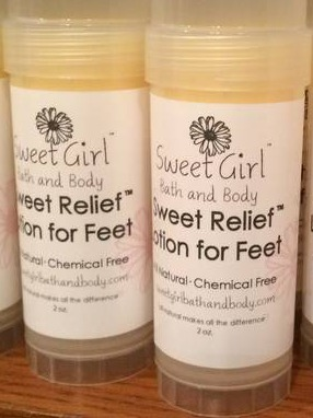 Product Labels for Sweet Relief™ Lotion for Feet