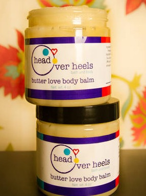 Head Over Heels Bath and Body Labels: Butter Love Body Balm