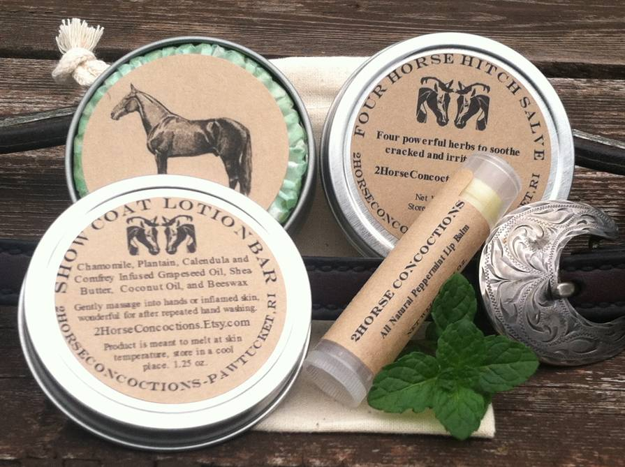 Product Labels for 2Horse Concoctions