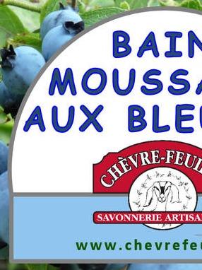Bain mousant aux bleuets OL575LP 2,438 x 3,75 8F