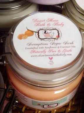 Best Labels for Sugar Scrubs and other Bath and Body Products