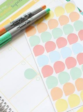 Planner Organization Stickers