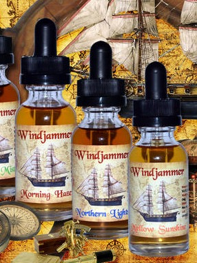 Product Labels for DownEast Vapes