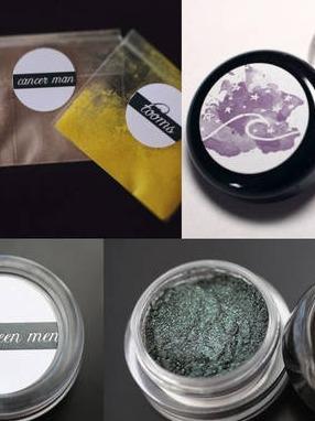 Tilt/Shift Cosmetics Loose Pigment Label