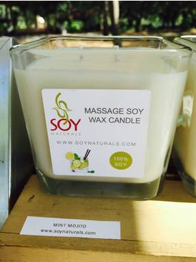 Soy Naturals Candle Label