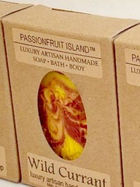 PASSIONFRUIT ISLAND SOAP LABELS