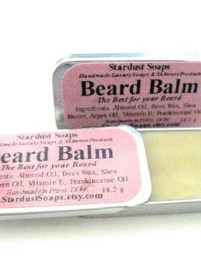 Beard Balm Labels by Stardust Soaps