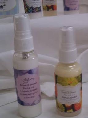Poo-La-La Toilet Spray Labels