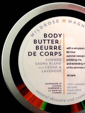 Handcrafted Body Butter Labels