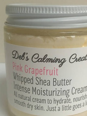 product labels for deb 39 s calming creations whipped shea. Black Bedroom Furniture Sets. Home Design Ideas