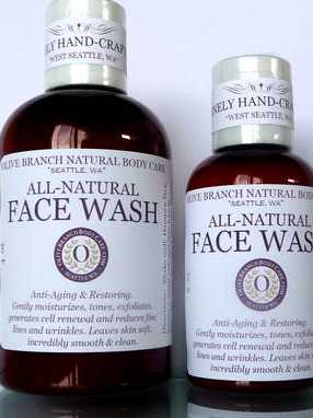 Olive Branch All-Natural Hand-Crafted Anti-Aging Face Wash
