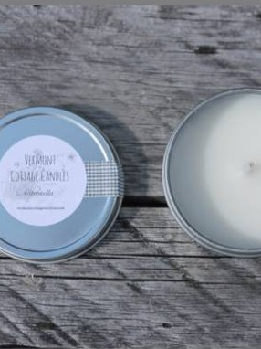 Natural Soy Candle Tin Labels
