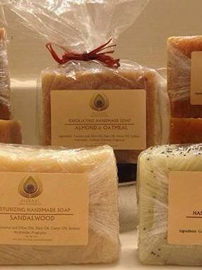 Meraki Soap Labels