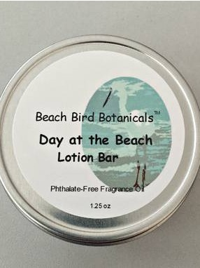 Beach Bird Botanicals Lotion Bar Labels