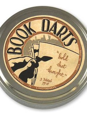 Book Darts - Bronze, Brass and Stainless Steel Linemarkers - Tin of 75