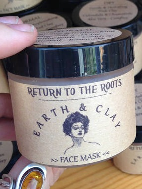 ReturnToTheRoots Herbal Botanical Face Mask Container Labels
