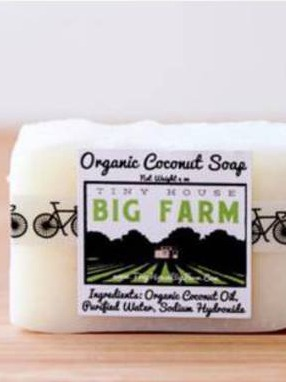 tiny house big farm soap labels