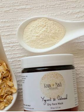 Knox & Nash Apothecary - Yogurt & Oats Face Mask
