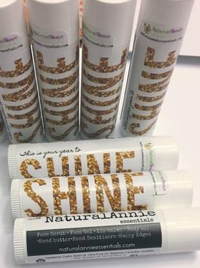 NaturalAnnie Essentials Custom Lip Balms