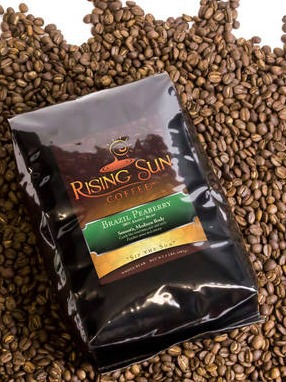 Rising Sun Coffee - Glossy Coffee Bag Labels