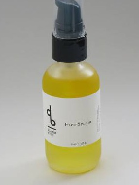 Face Serum Bottle Label