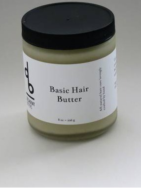 Basic Hair Butter Labels