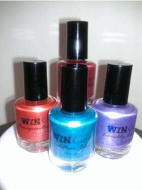 Win Collection Nail Polish Labels
