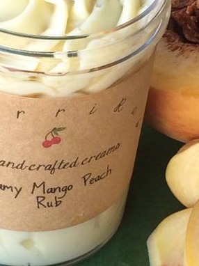 Creamy Mango Peach Rub Labels