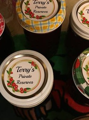 2 Inch Round Labels for Ball Jelly Jar Lids