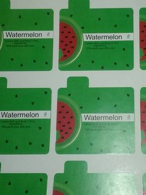 Watermelon lipblam