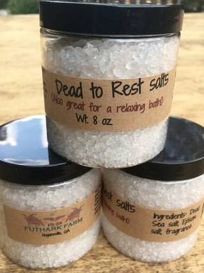 Dead to Rest salts label