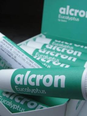 Alcron Eucalyptus Lip Balm & Display Box