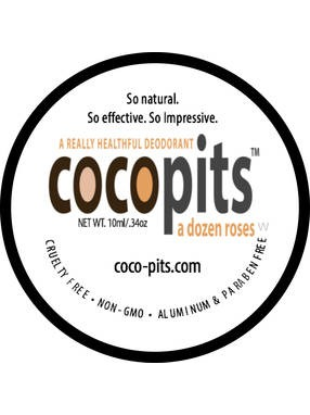 CocoPits All Natural Deodorant