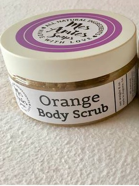 Mes Amies Soaps Orange Body Scrub
