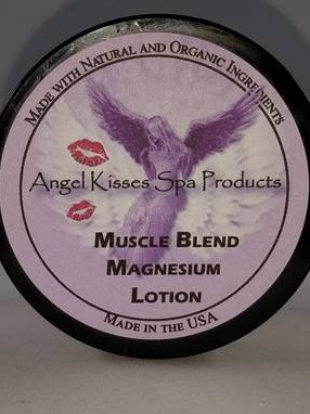 Angel Kisses Spa Products  Magnesium lotion
