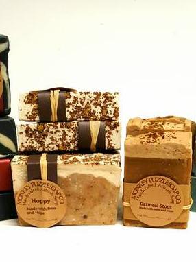 Monkey Puzzle Soap Co. Product Labels