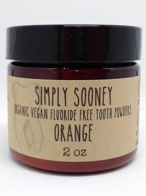 Simply Sooney Tooth Powder Orange
