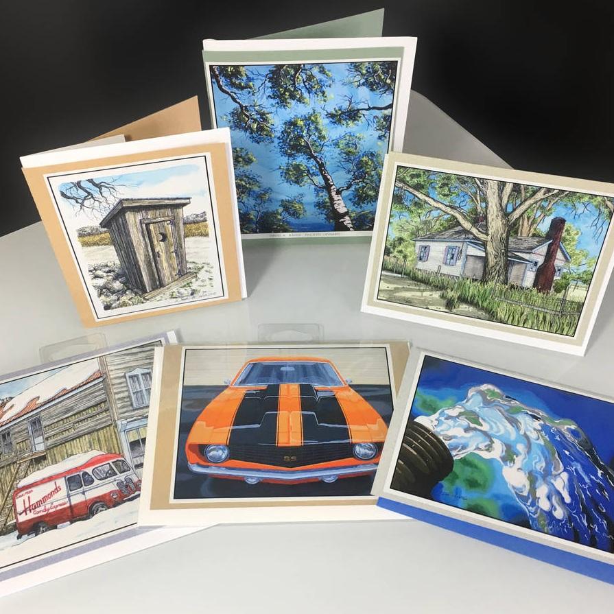 Fine art greeting cards customer ideas onlinelabels fine art greeting cards m4hsunfo