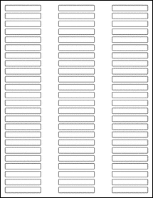 """OL151 - 2"""" x 0.315"""" Blank Label Template for PDF"""