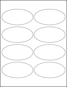 """Sheet of 4"""" x 2""""  labels"""