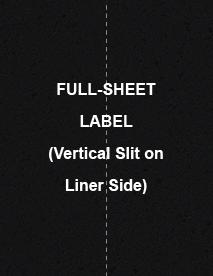 """Sheet of 8.5"""" x 11"""" Chalkboard Labels labels"""