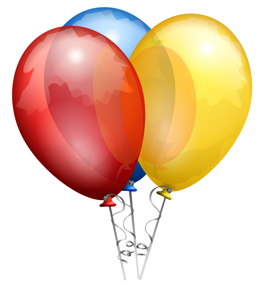 free clip art balloons celebration - photo #33